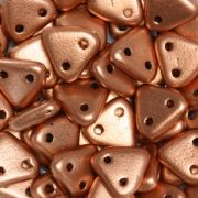 CzechMates Triangle 6mm - Matt Metallic Copper