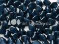 Pinch Beads 5mm - Alabaster Pastel Montana Blue